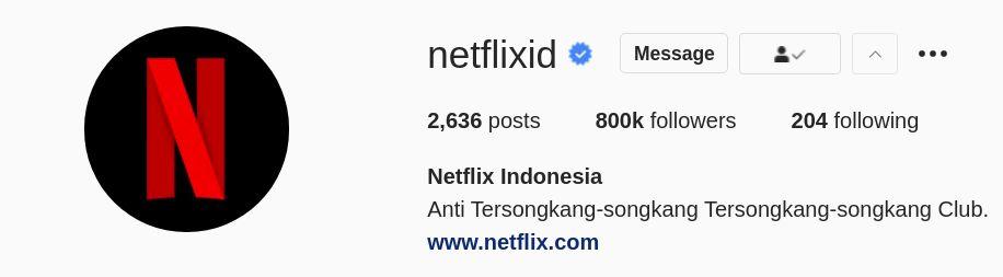 Akun Netflix Indonesia