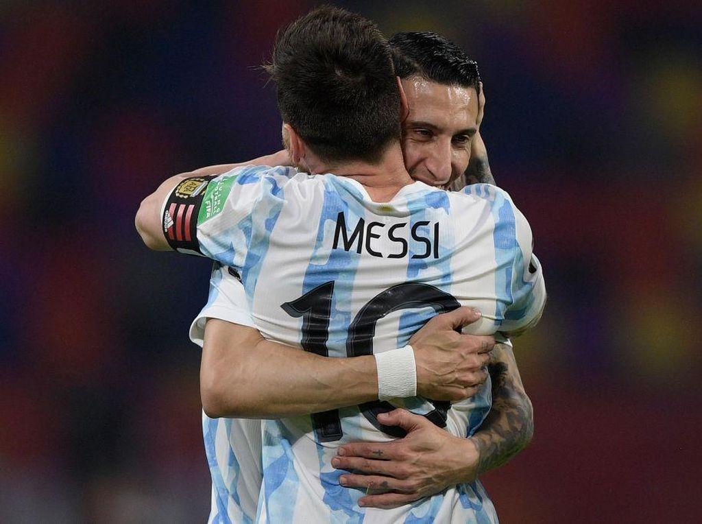 Lionel Messi Berterima Kasih Kepada Angel Di Maria