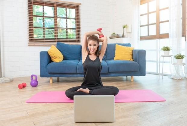 Ketika berolahraga, hormon stres dalam tubuh dapat terlepas dan tergantikan dengan hormon antidepresan.
