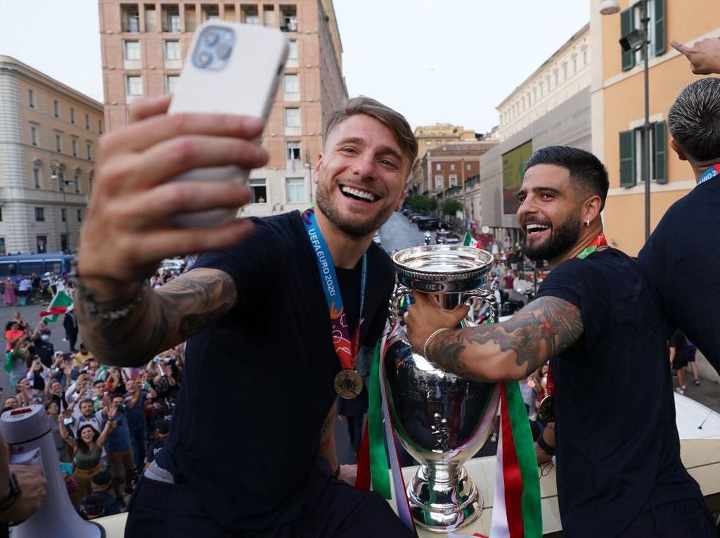 Immobile: Minim Gol Tak Apa, yang Penting Italia Juara Euro 2020