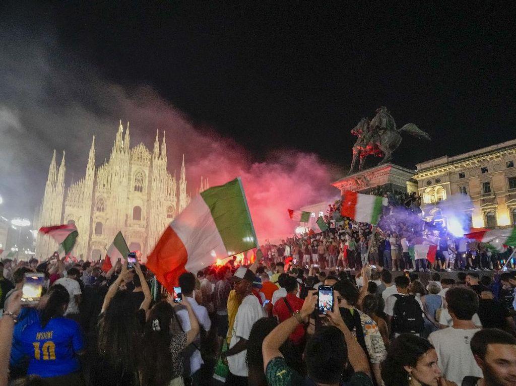 Perayaan Italia Juara Euro 2020: Satu Tewas, Beberapa Luka