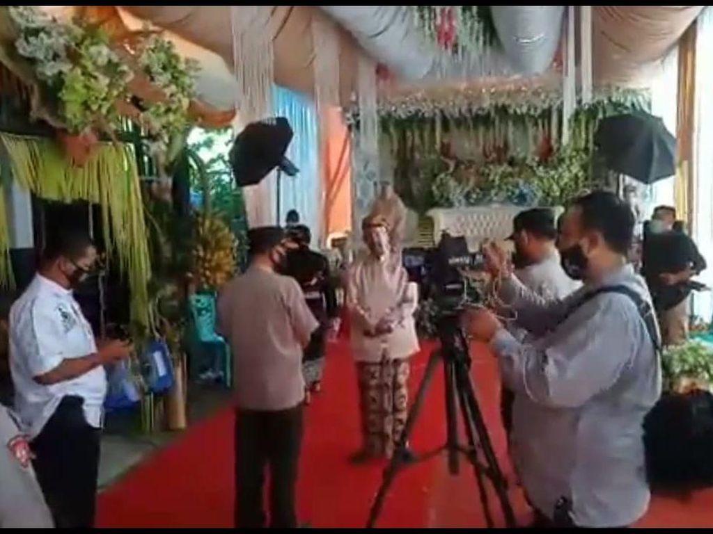 Hajatan Pernikahan di Magetan Dibubarkan Karena Digelar Saat PPKM Darurat