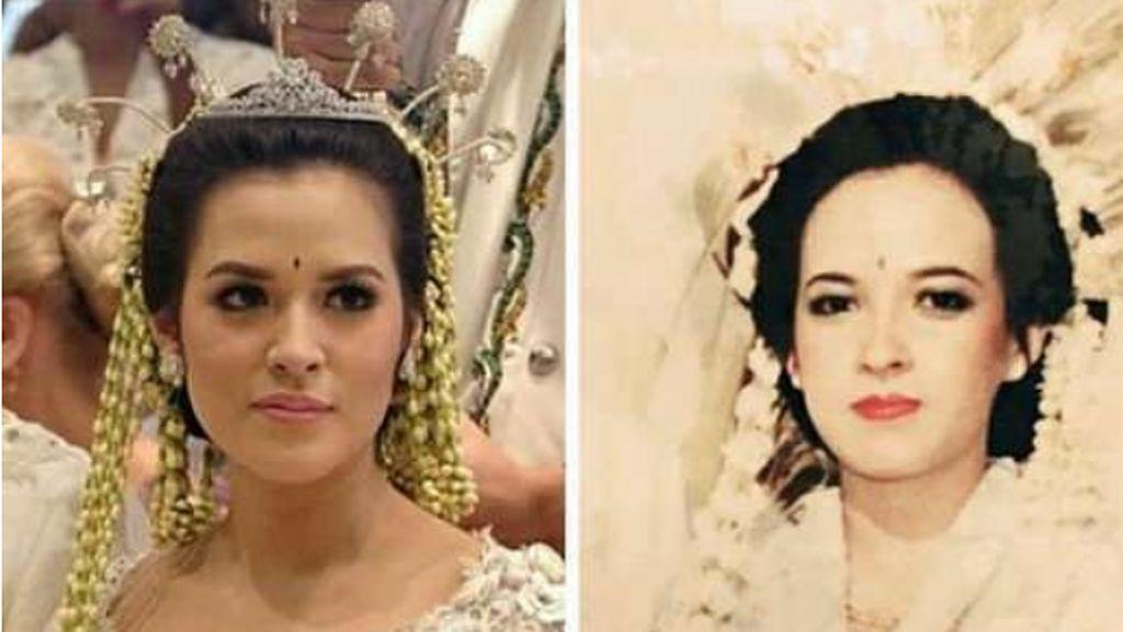 Ini Foto Lawas Ibunda Raisa saat Menikah, Cantiknya 11-12