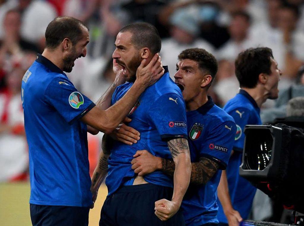 Bonucci dan Chiellini, Tidak Pernah Dikolongin di Euro 2020