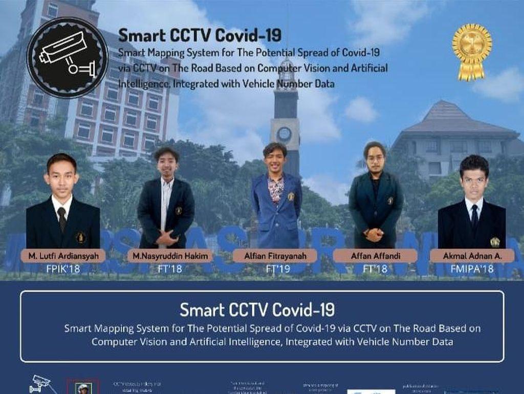Inspiratif, Mahasiswa UB Ciptakan Smart CCTV Deteksi Pelanggar Prokes