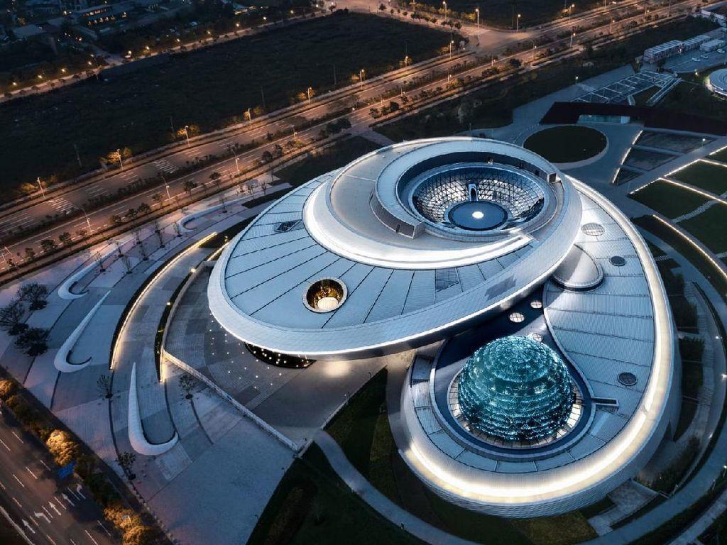 Wow! Museum Astronomi Terbesar di Dunia Segera Dibuka di Shanghai