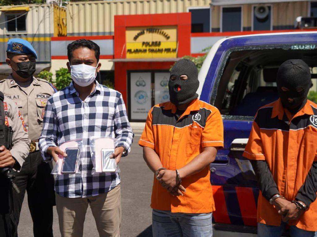 Polisi Tangkap 2 Perusak Mobil Polisi Saat Ricuh PPKM Darurat di Surabaya