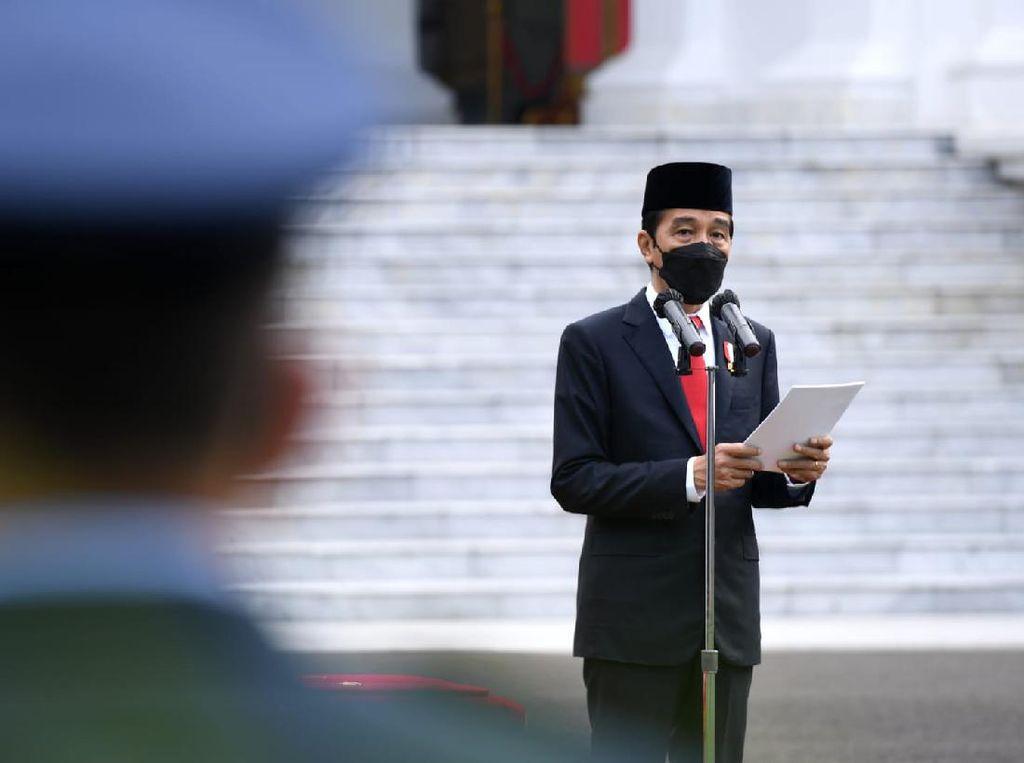 Jokowi Minta Semua Pihak Kerja Sama agar Kasus COVID-19 Segera Turun