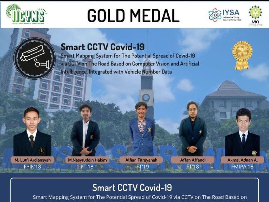 Top! Mahasiswa UB Ciptakan Smart CCTV untuk Deteksi Pelanggar Prokes