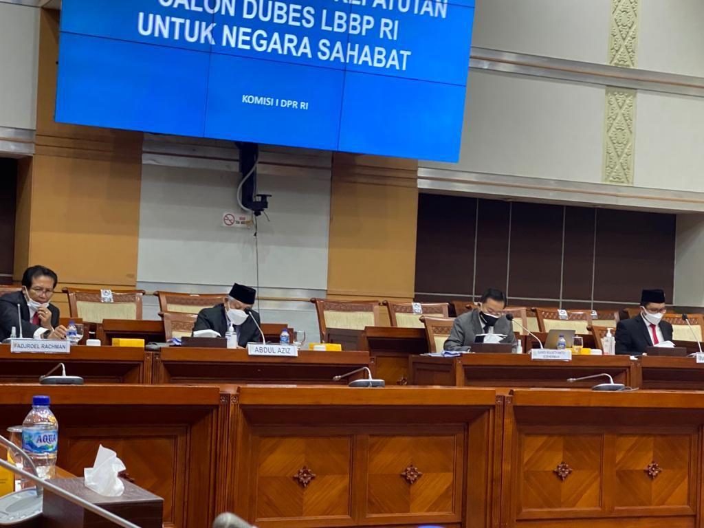 Calon Dubes Hasil Uji Kelayakan Komisi I DPR Dilantik Pekan Depan