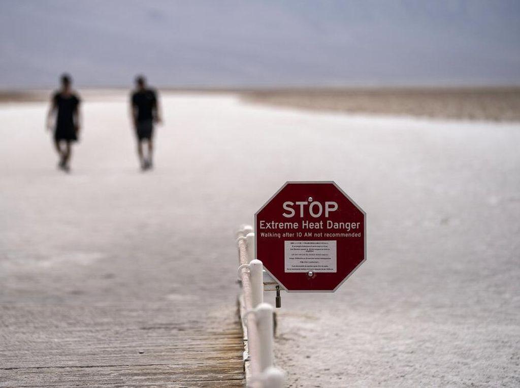Gelombang Panas di Lembah Kematian AS Tembus 56°C