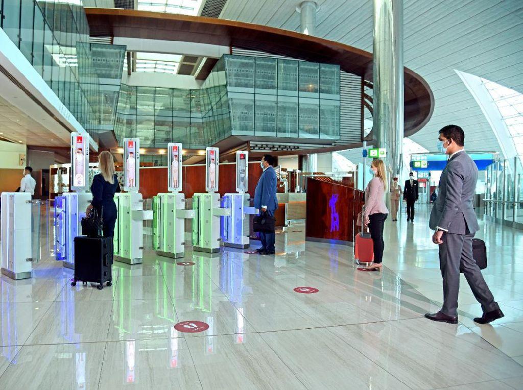 Emirates Hadirkan Layanan Tanpa Sentuh Plus Biometrik Buat Traveler