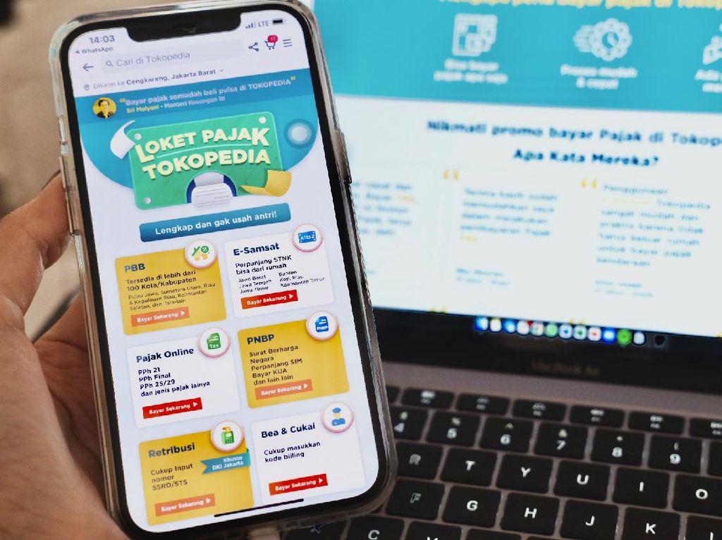 Kuartal 1 2021, Pembayaran Pajak Online di e-Commerce Naik 3x Lipat
