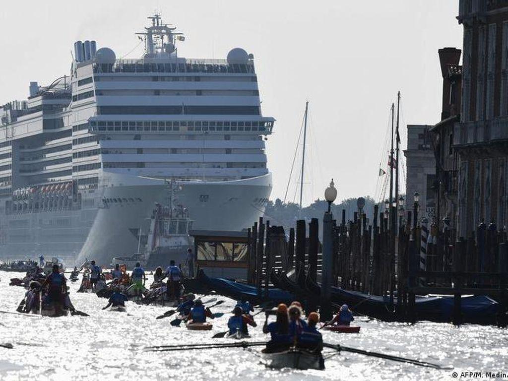Mulai Agustus 2021, Italia Larang Kapal Pesiar Memasuki Venesia