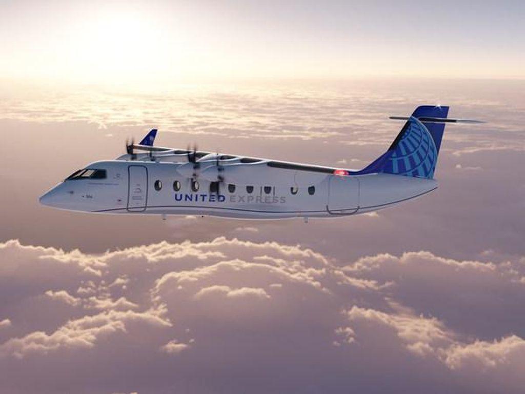 Ambisi Maskapai AS Terbangkan Pesawat Listrik 5 Tahun Lagi