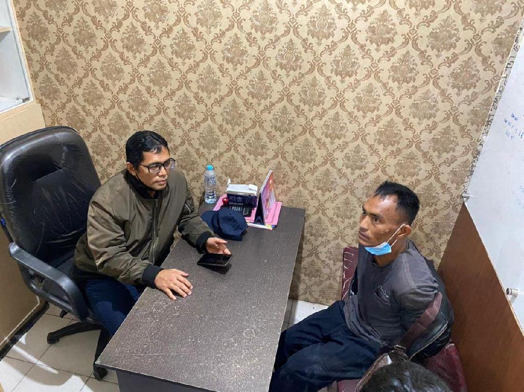 Seorang Pria yang Viral Hina Jokowi dan Polisi Diamankan