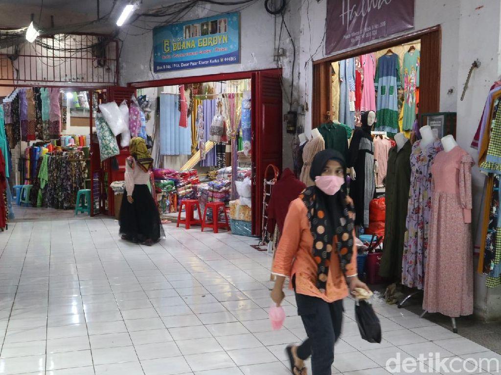 Curahan Hati Pedagang Pasar Kliwon Kudus Omzetnya Anjlok 90%