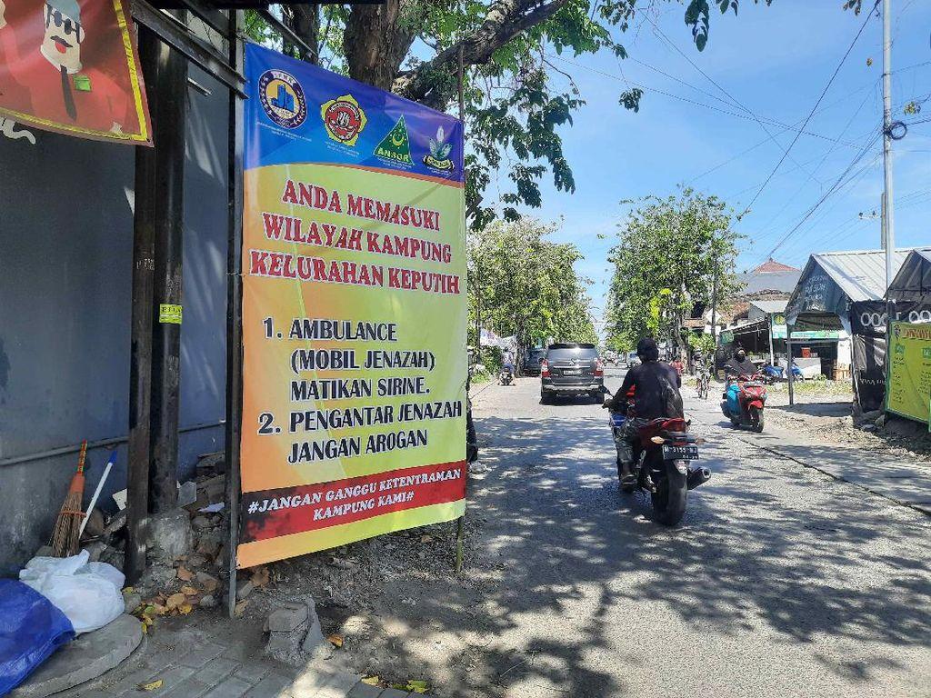 Pengantar Jenazah yang Arogan Meresahkan Warga Sekitar TPU Keputih Surabaya