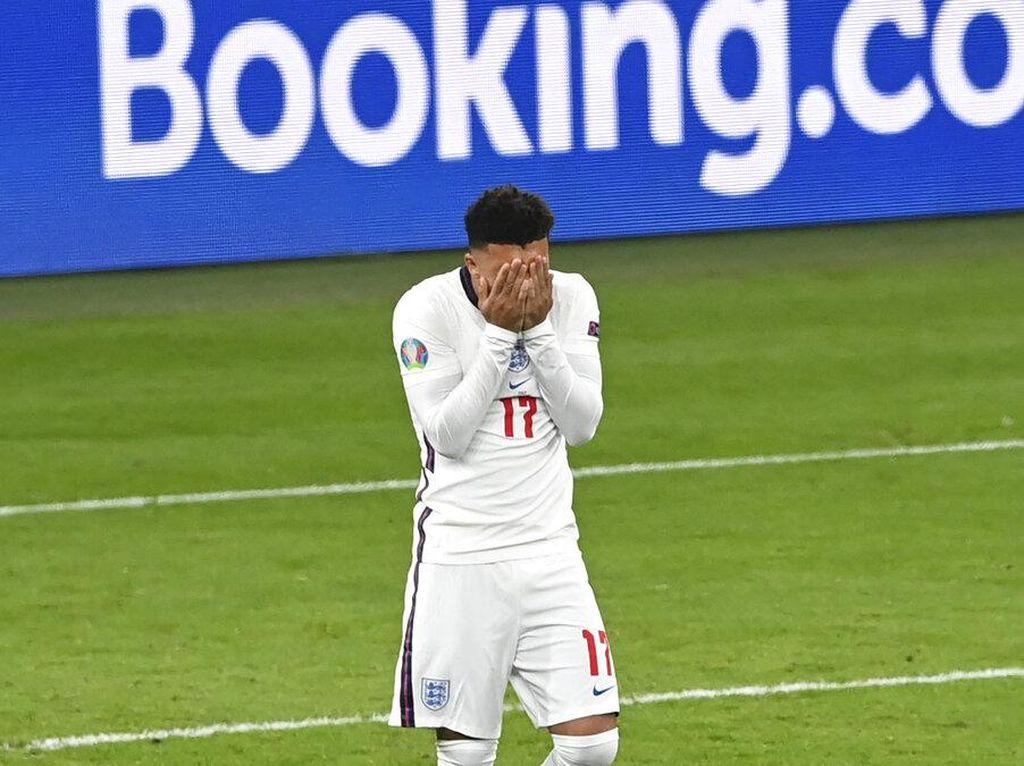 Gagal Penalti di Final Euro 2020, Sancho: Perasaan Terburuk dalam Karierku