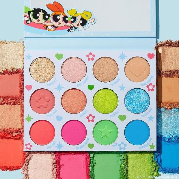 Colourpop The Powerpuff Girls Eyeshadow Pallete