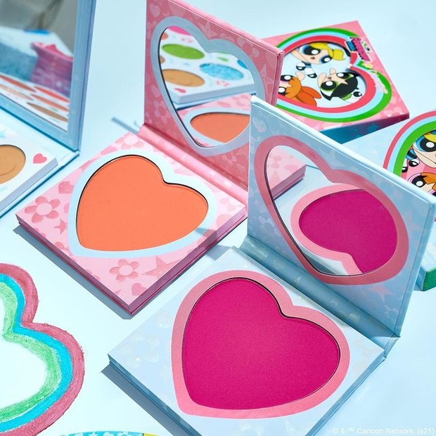 Colourpop The Powerpuff Girls Pressed Powder Blush