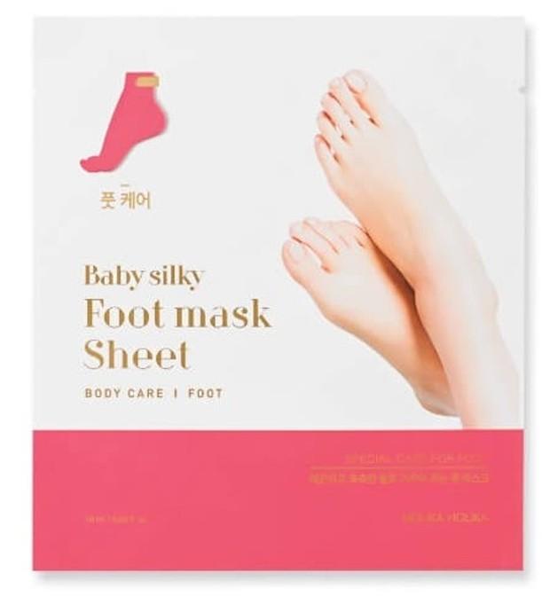 Foto: Holika Holika Baby Silku Foot Mask Sheet/holikaholika.co.id