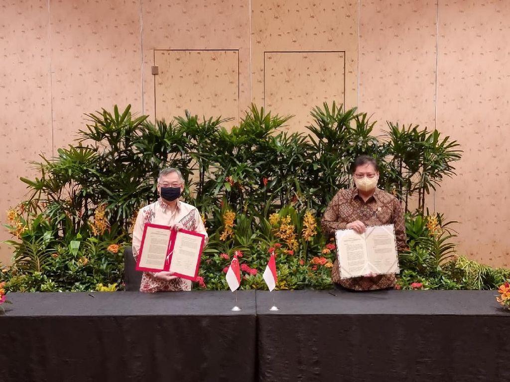 Singapura Tambah Investasi ke RI, Ini 6 Pokok Perjanjiannya