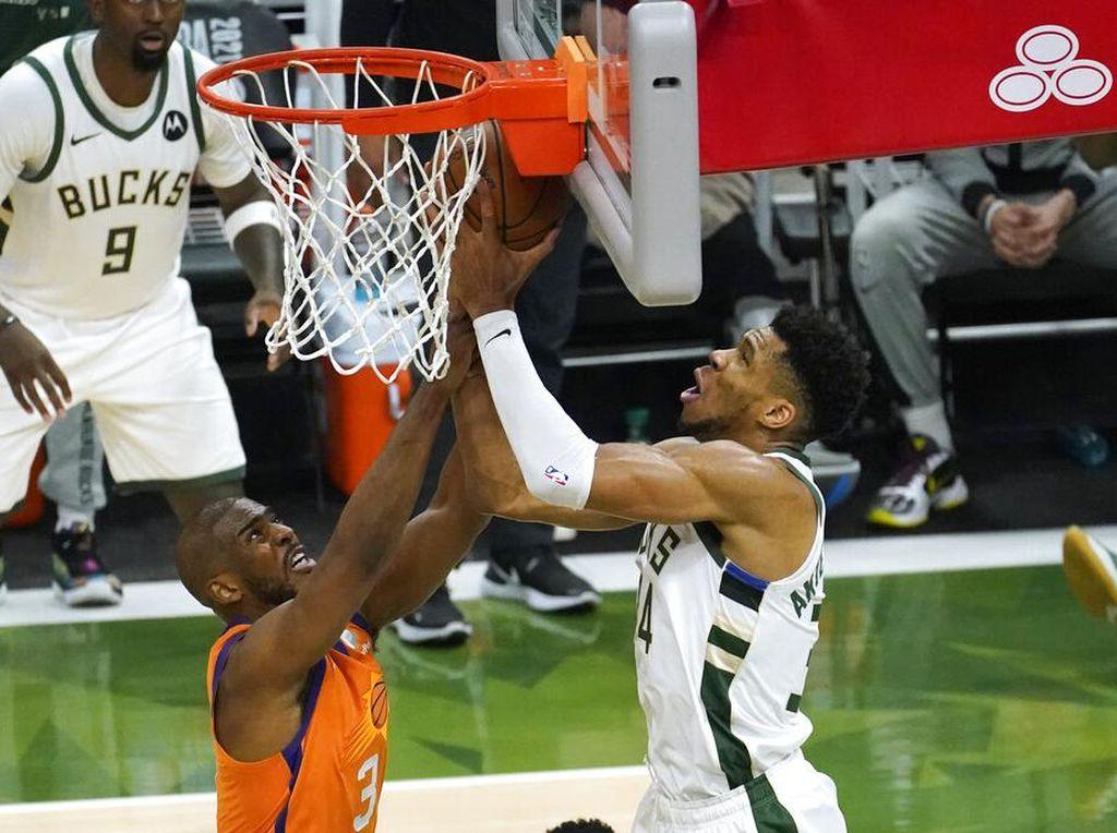 Final NBA 2021: Seru! Bucks Vs Suns Kini 2-2