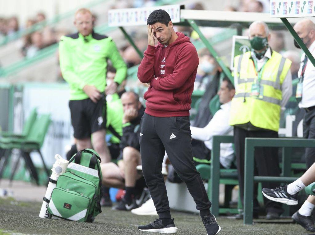 Arteta Masih Belum Move On dari Kekalahan Arsenal di Uji Coba