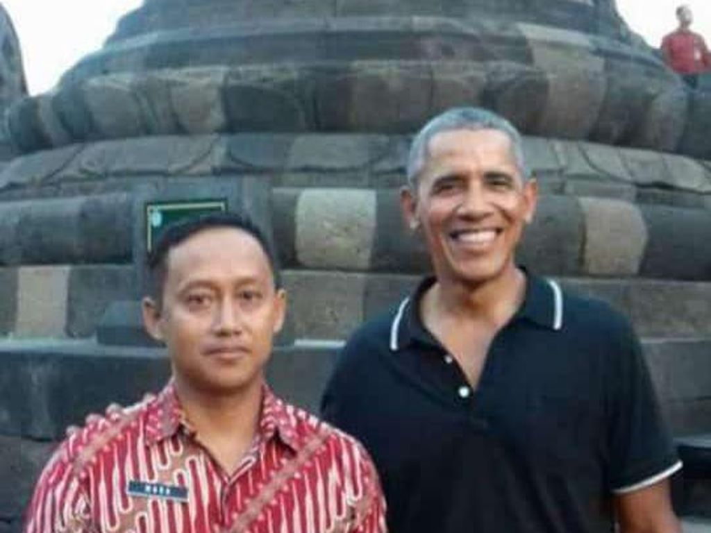 Pengalaman Guide Candi Borobudur Dampingi Obama dan Raja-raja Dunia