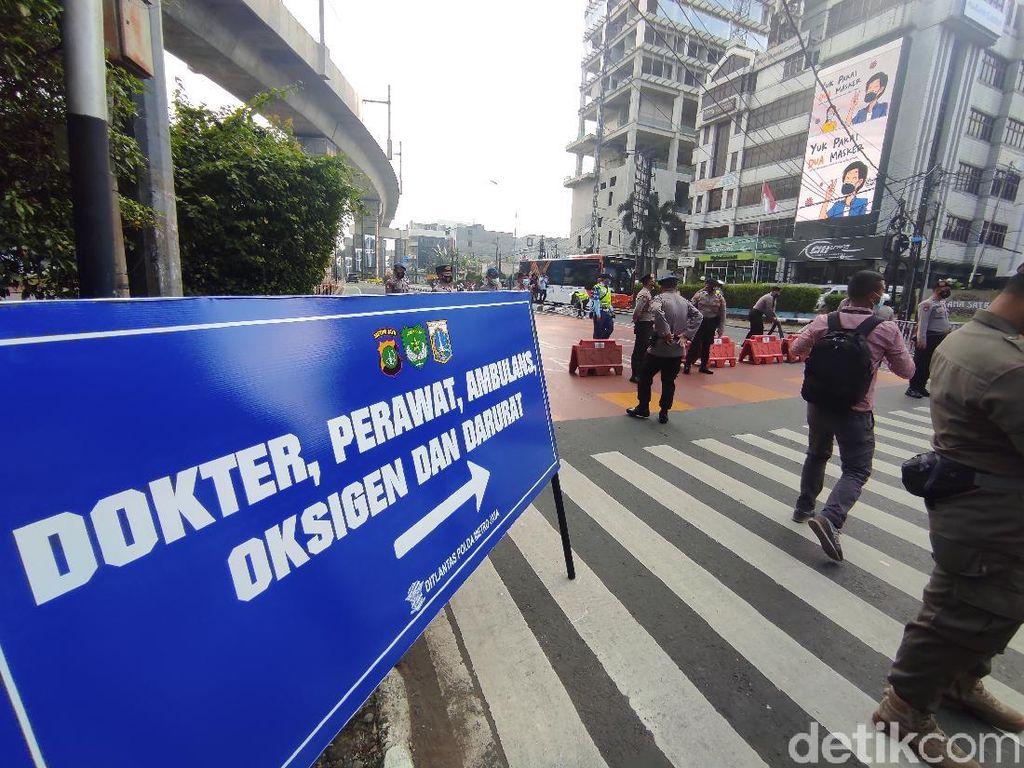 Daftar 100 Titik Penyekatan Jakarta, Ada Lokasi Baru!