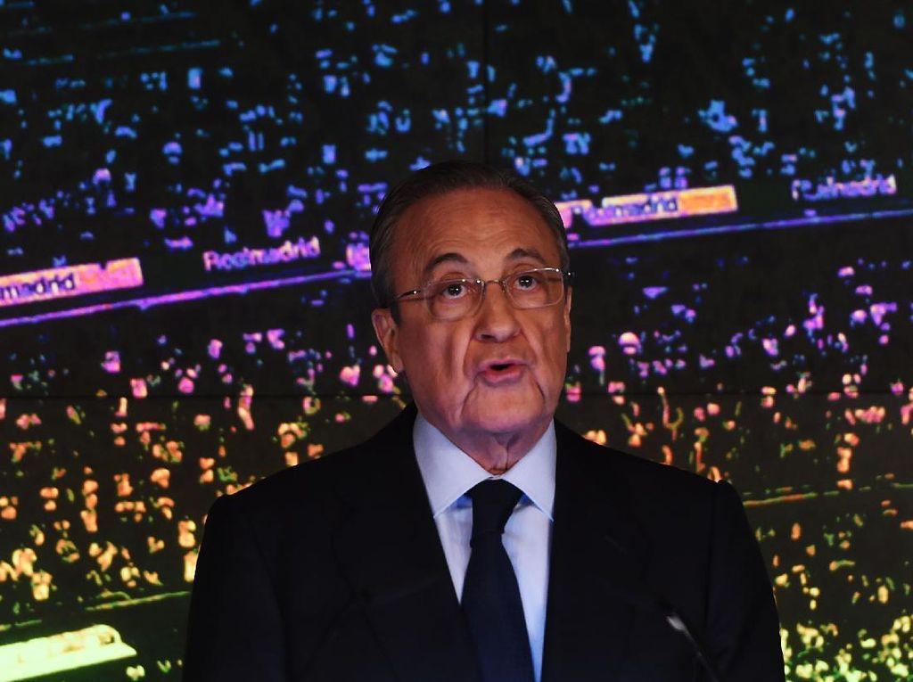 Presiden Real Madrid adalah Korban Ketidaksenonohan