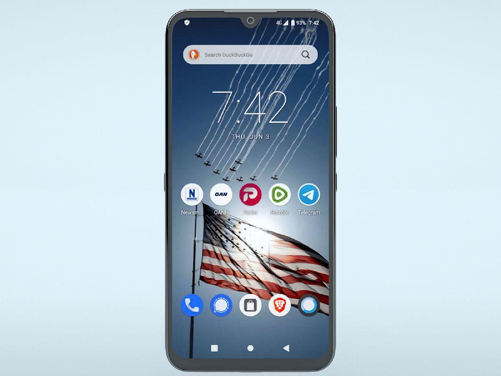 Pendukung Trump Bikin Freedom Phone, HP Android Murah dari China
