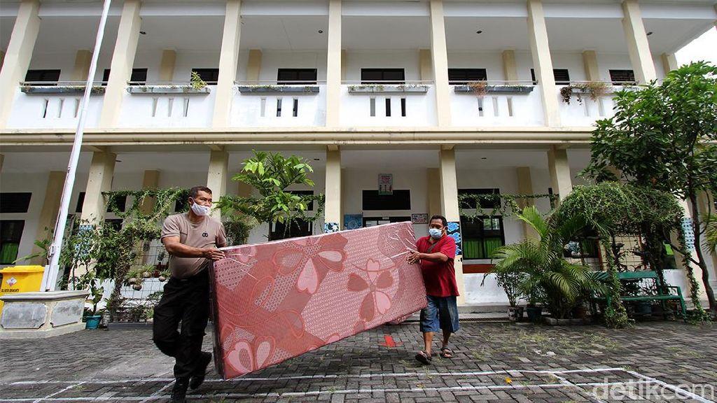 Gedung Sekolah di Solo Disulap Jadi Lokasi Isolasi Pasien Corona