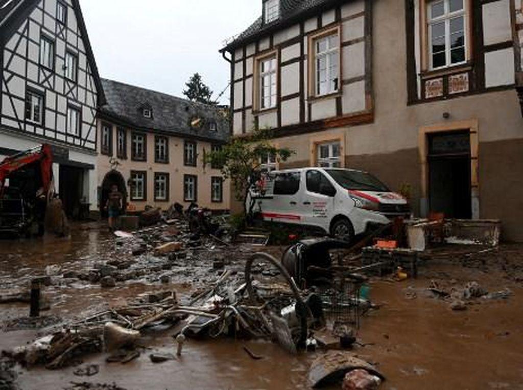 Kemlu Pastikan Tak Ada WNI Jadi Korban Tewas Banjir Jerman