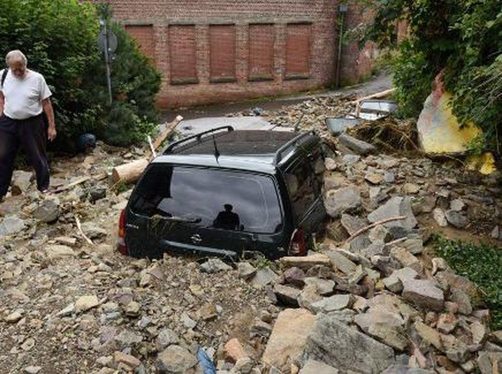 110 Orang Tewas dalam Banjir Bandang Jerman-Belgia