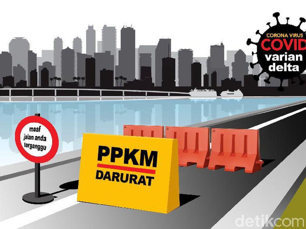 PPKM Diperpanjang, Penyekatan di Jateng Fokus di Perbatasan