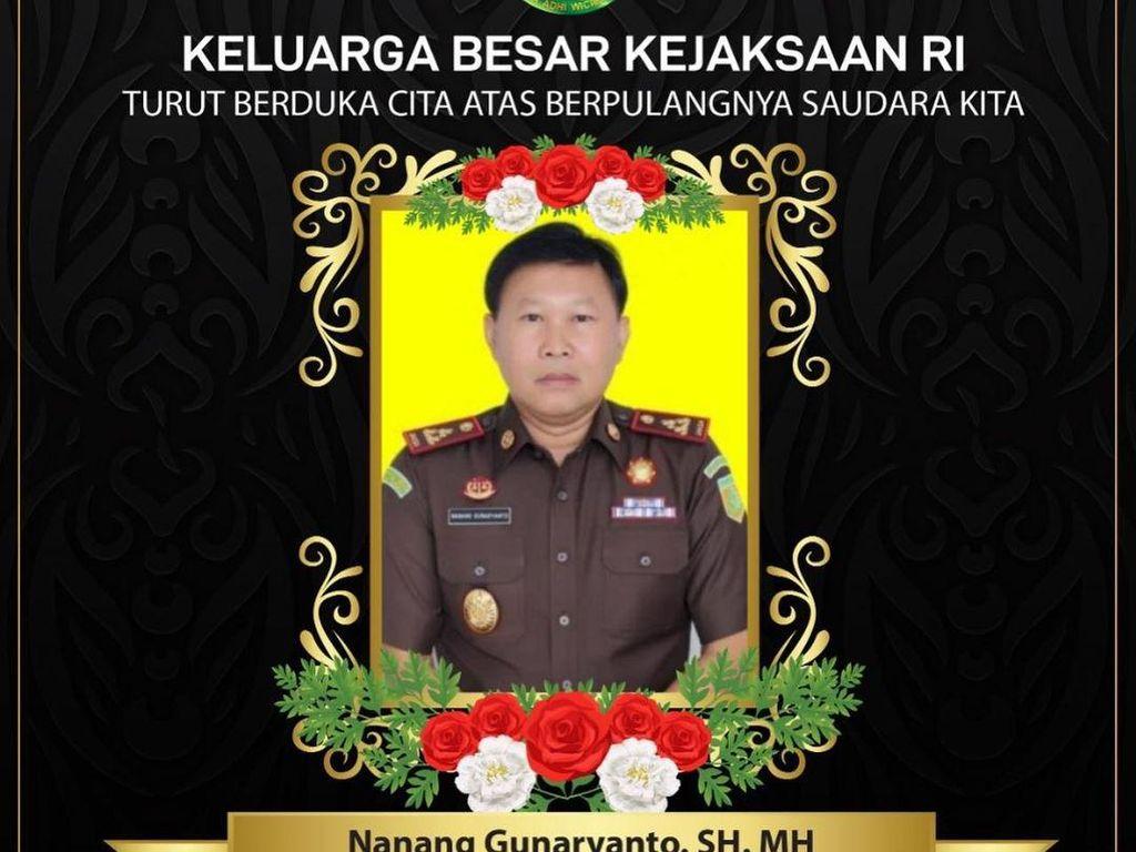 Jaksa Nanang Gunaryanto Tutup Usia