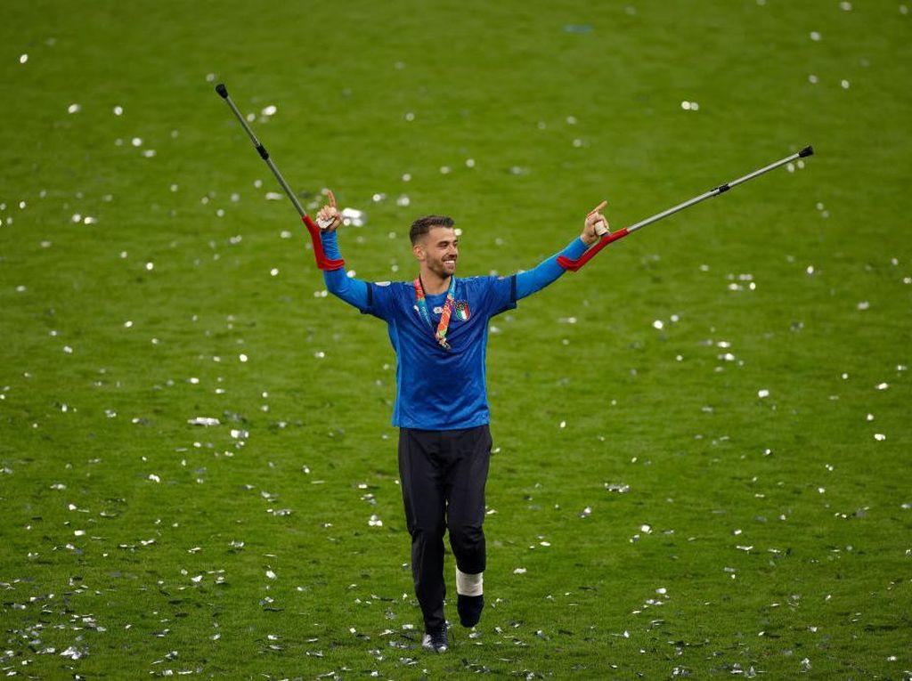 Cedera Spinazzola Tambah Motivasi Italia untuk Juara Euro 2020