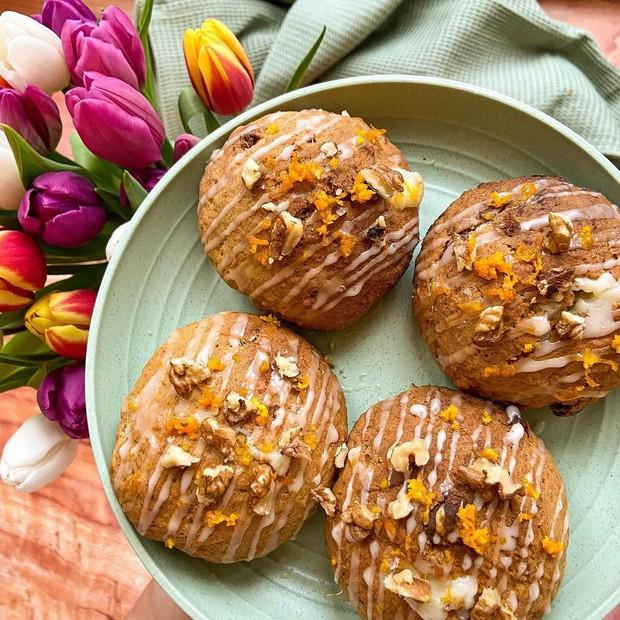 Makanan penutup carrot oatmeal cookies untuk melengkapi hidangan Idul Adha/ Foto: instagram.com/harrietsfoodstories