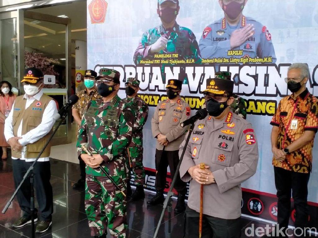 Panglima TNI Nyatakan Saat Ini Peperangan, Musuhnya Tak Terlihat