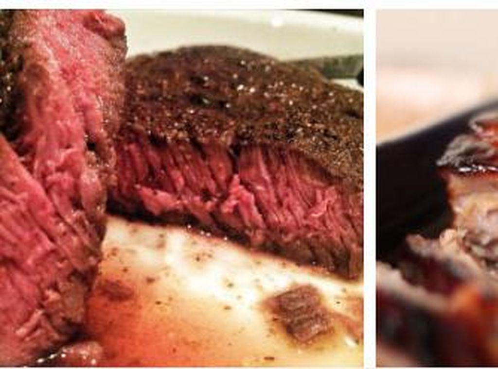 Ini Perbedaan Daging Sapi dan Daging Babi ketika Dimasak