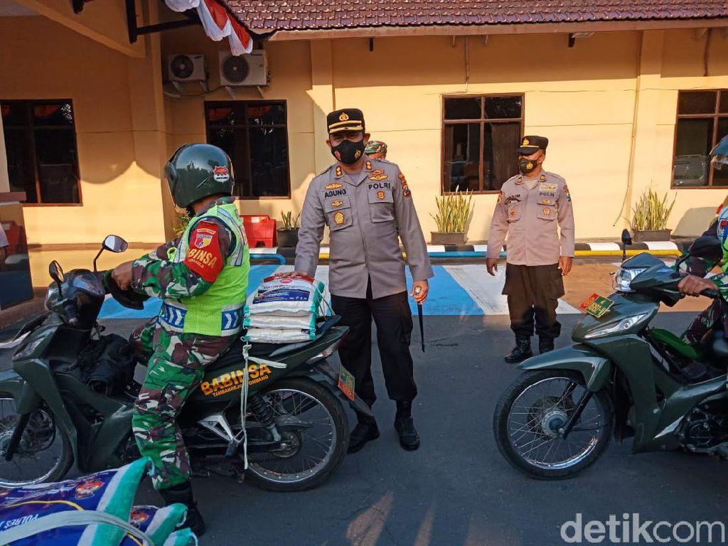 Paket Sembako Jamin Warga Jombang yang Isoman Tetap di Rumah