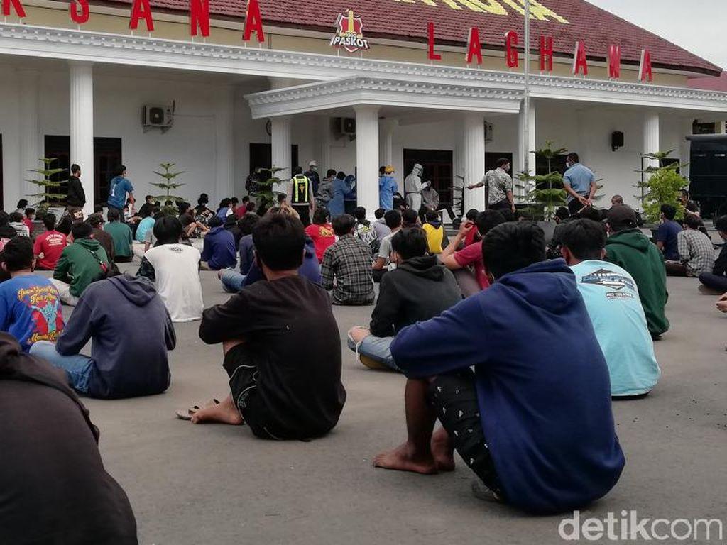Ini Pengakuan Remaja yang Ikut Demo Rusuh Tolak PPKM Darurat di Kota Pasuruan