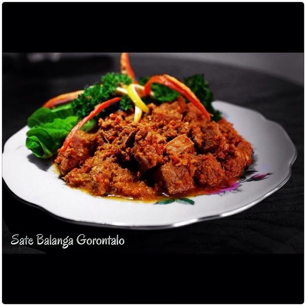 Sate Balanga Gorontalo (foto: instagram.com/williamwongso)