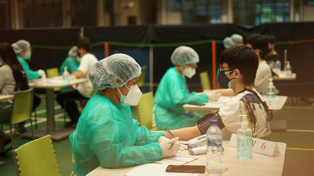 Vaksinasi Tingkat Pelajar Terus Dikebut