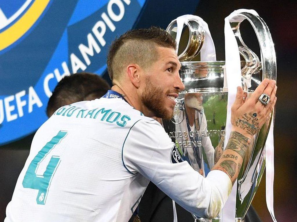 Bareng PSG, Ramos Ingin Raih Trofi Liga Champions Kelimanya