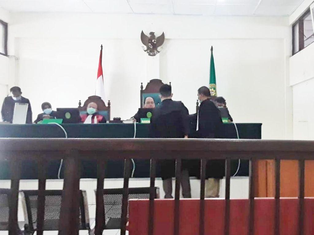 Tok! Pembunuh PSK di Hotel Palembang Divonis 15 Tahun Penjara