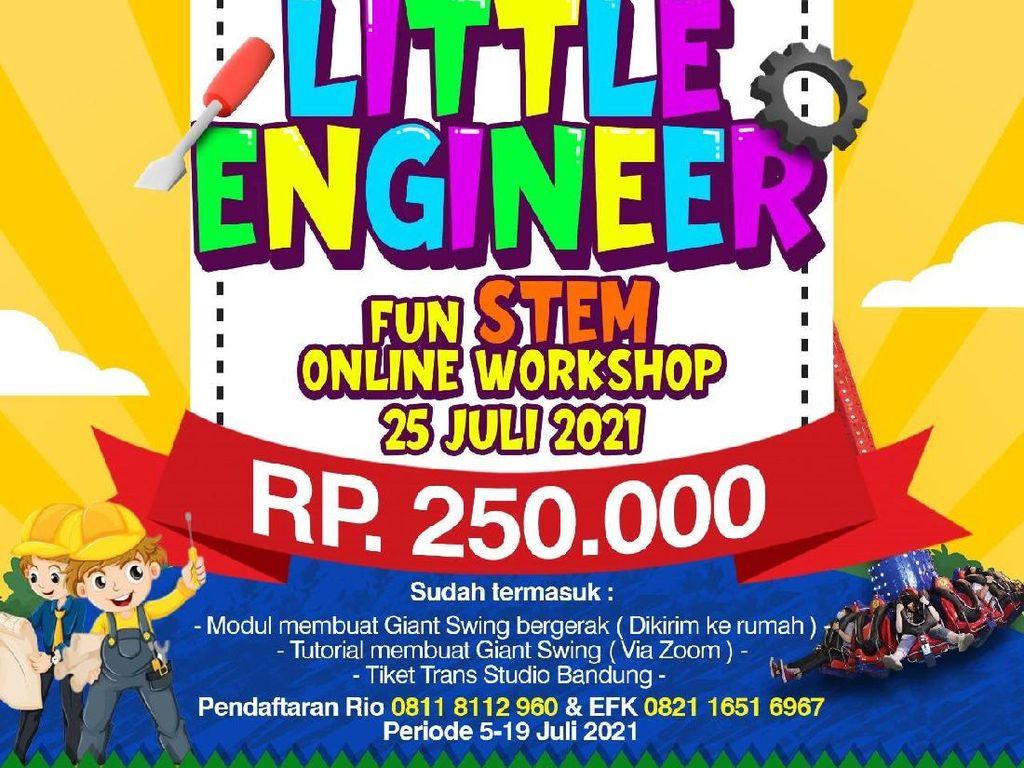 Ajak Si Kecil Ikut Engineering Fun Kids Bareng Trans Studio Bandung