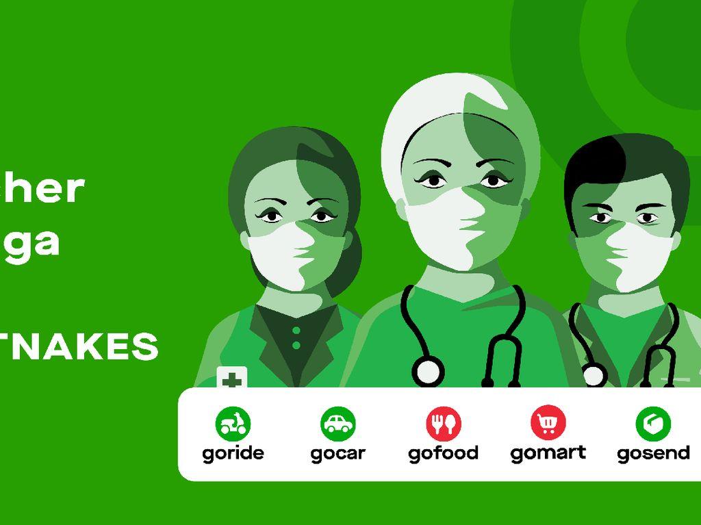 Gojek Beri Paket Voucher Diskon untuk 50.000 Tenaga Kesehatan